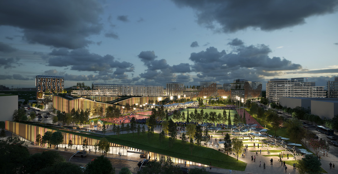 2.9 million sq. ft. development proposed next to Richmond Olympic Oval (RENDERINGS)