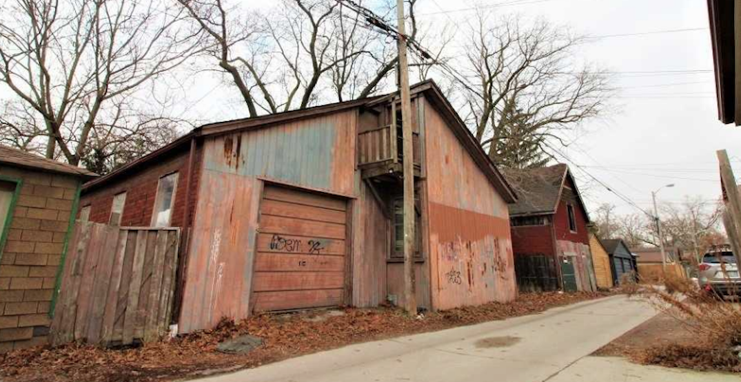 This uninhabitable Toronto home is on the market for almost $800,000