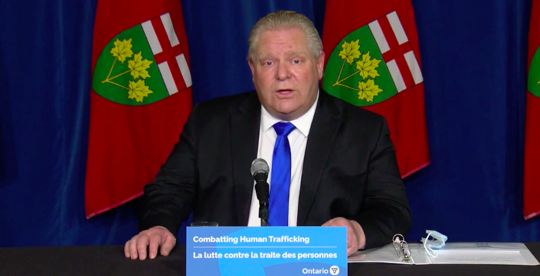 Ford says cutting Toronto City Council by half was the best present for Tory