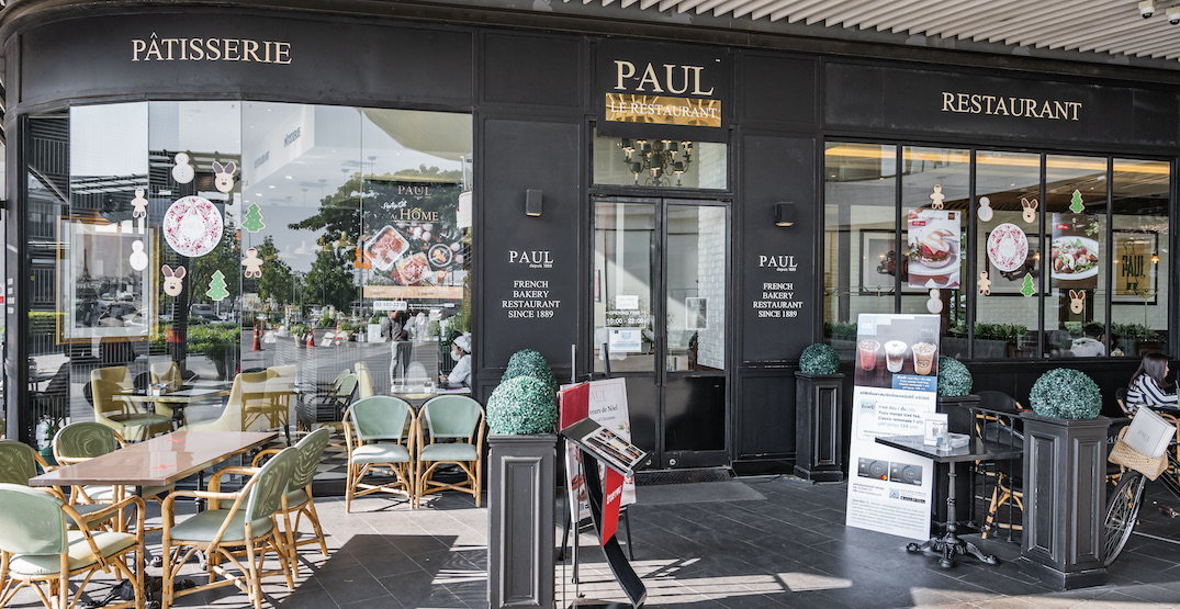 Famous bakery PAUL is opening a cafe on Robson Street