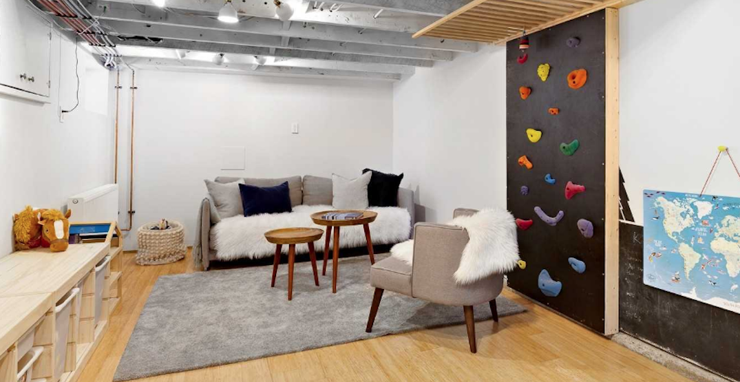This Toronto house with a rock climbing wall and secret loft is every child's dream (PHOTOS)
