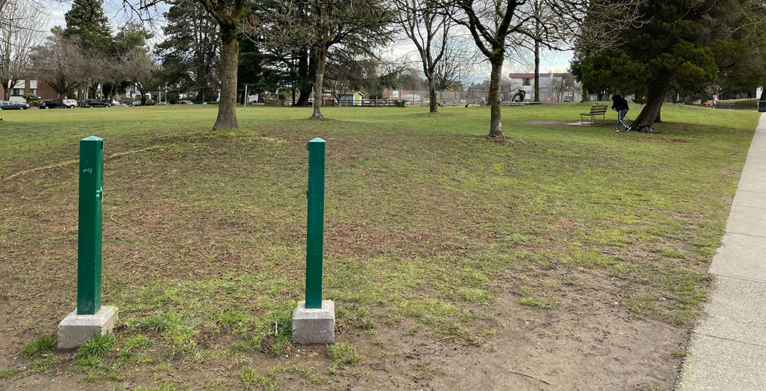 Vancouver's Dude Chilling Park sign has been removed (PHOTOS)