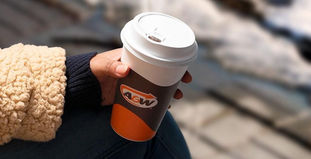 You can sip on free unlimited coffee at A&W next month