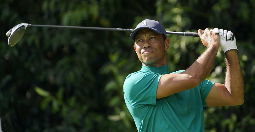 "Tiger Woods ""awake"" and ""responsive"" after emergency surgery"