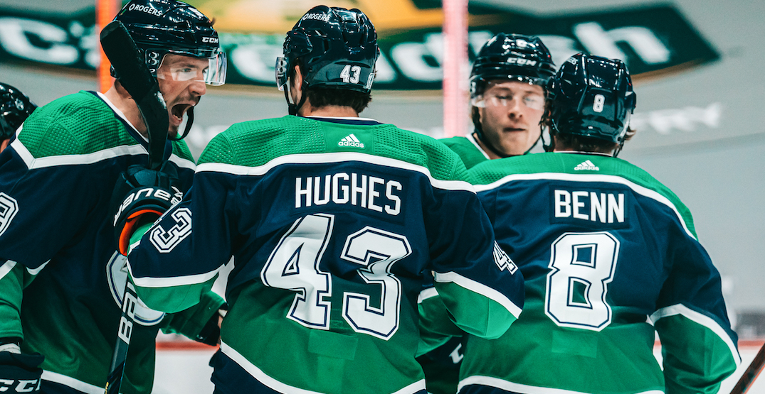 Canucks make major changes to their lines ahead of Oilers rematch