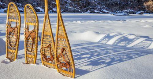 snowshoeing Montreal