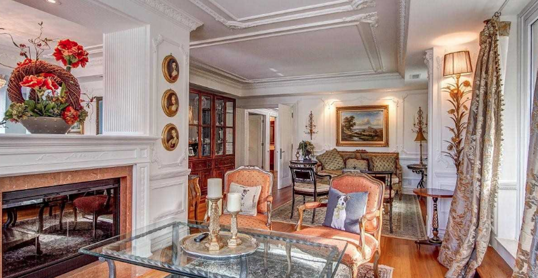 This $8.5 million Yorkville condo might as well be a palace