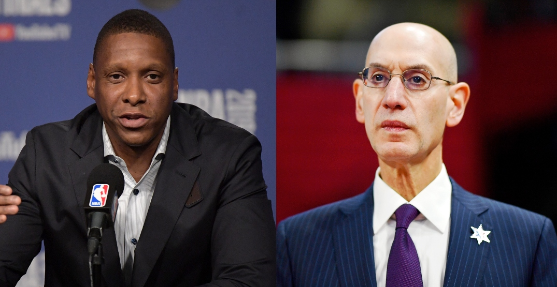 NBA Commissioner Adam Silver apologizes to Raptors President Masai Ujiri