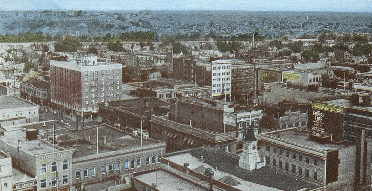 18 vintage photos of downtown Calgary in the early 1900s