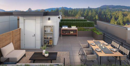 Peek inside Port Moody's new $799,900 rooftop deck homes (PHOTOS) | Urbanized