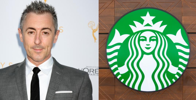 Alan Cumming blasts Starbucks Canada for charging vegans more