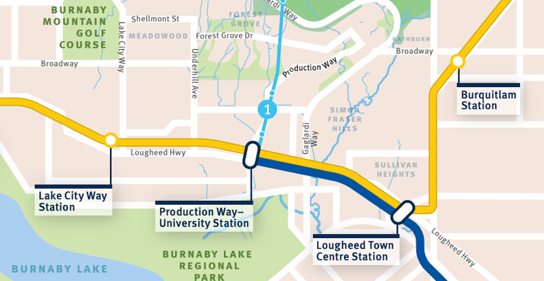 TransLink identifies direct, shortest SFU Gondola route as the preferred option