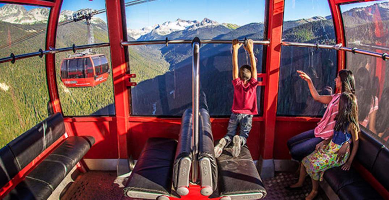 whistler blackcomb peak to peak gondola