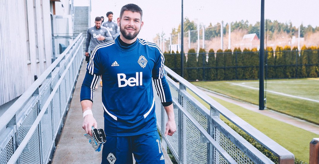 Expectant father Crepeau ready to reclaim spot as top Whitecaps goalkeeper