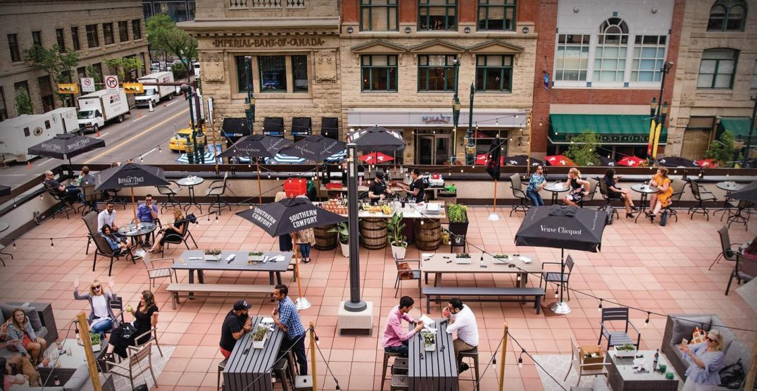 Calgary's patio season set to start earlier this year