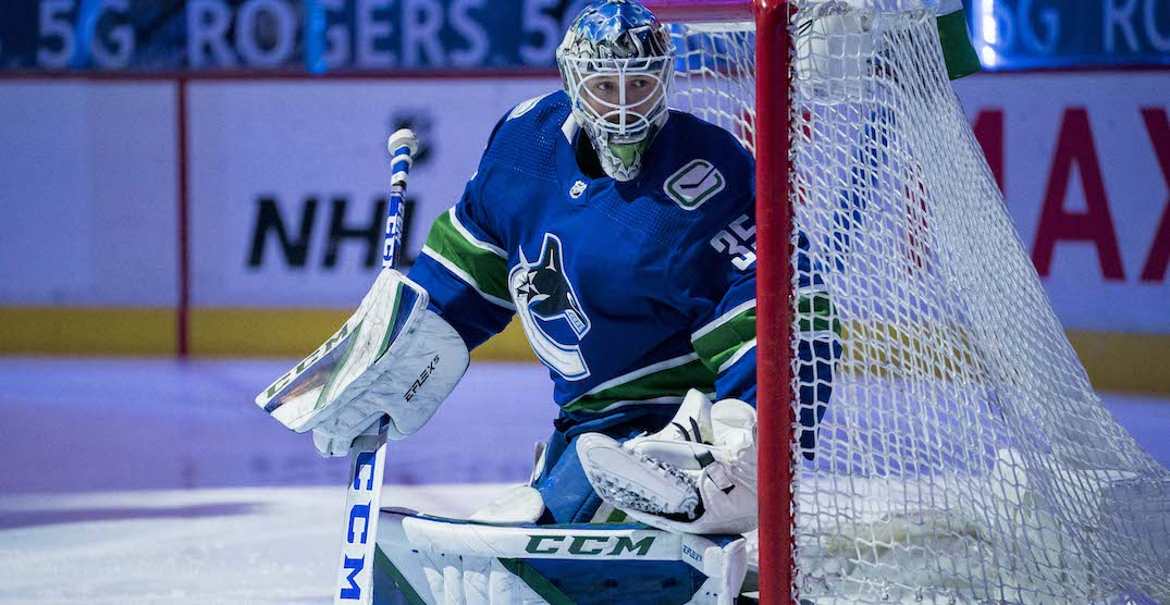 Canucks sign Thatcher Demko to 5-year, $25M contract extension: report