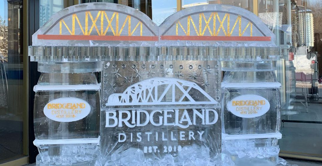 You can now visit an ice bar in Calgary until the end of March