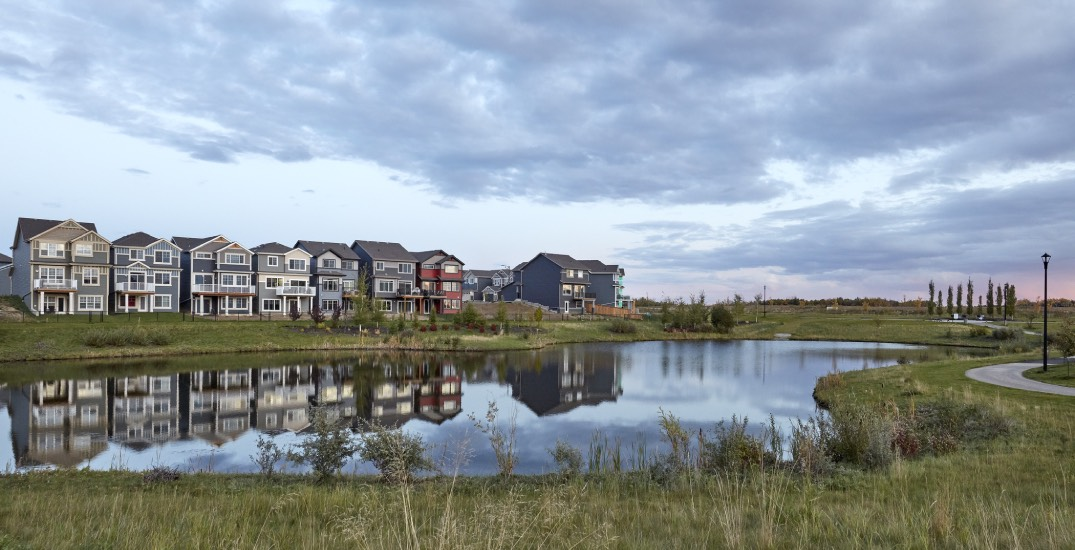 Limited number of affordable Edmonton townhomes left in The Orchards