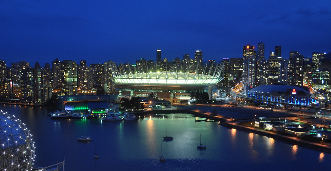 Vancouver landmarks are lighting up yellow tonight
