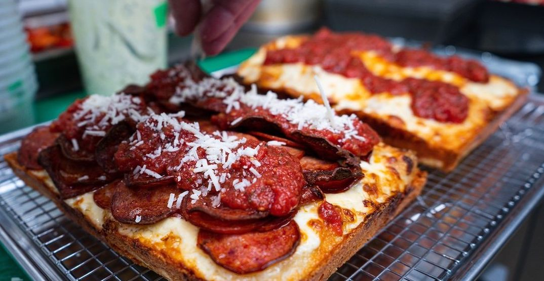 Detroit-style deep-dish pizza pop-up opens in Montreal