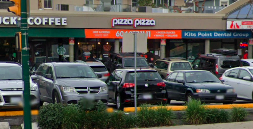 Anti-maskers verbally abuse staff, shove young bystander at Vancouver Pizza Pizza