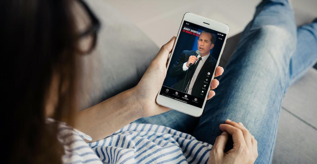 """Netflix Canada launches feed of """"funny clips"""" for iPhone"""