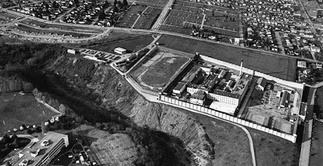 An entire New Westminster neighbourhood used to be a massive prison (PHOTOS)