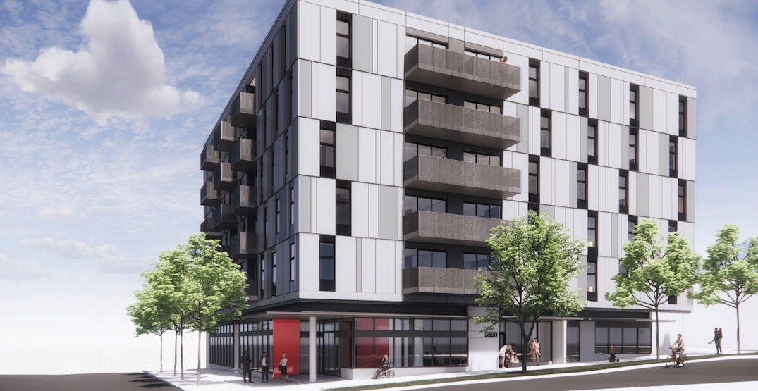 54 social housing units proposed for 40th Avenue and Victoria Drive corner