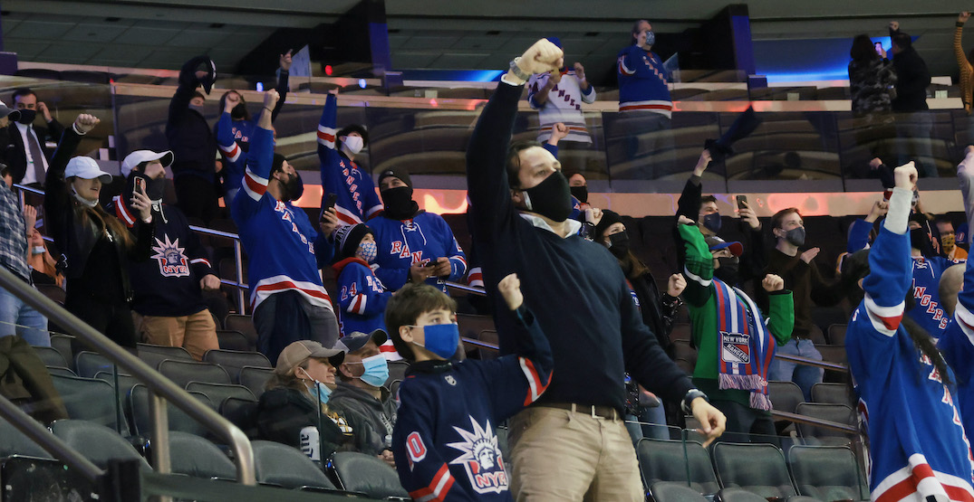 18 of 24 American NHL teams set to allow fans at games this month