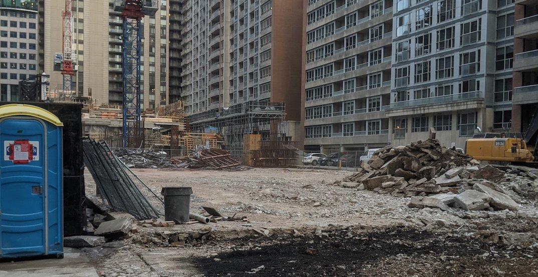 Wayne Gretzky's, Second City demolished to make way for 47-storey condo building