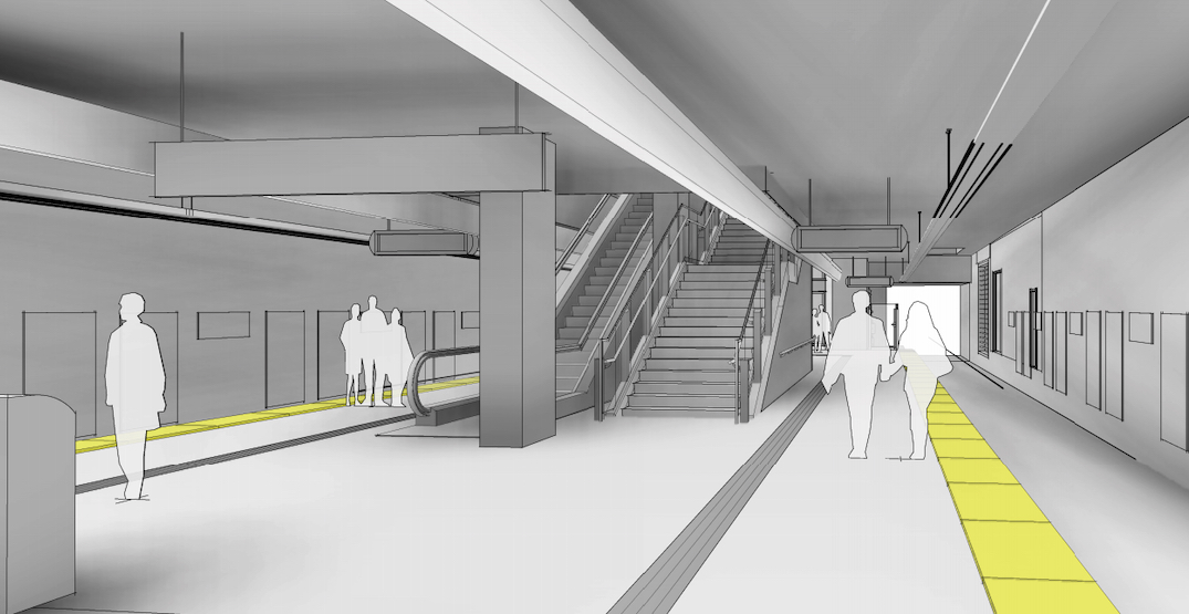 A new look at the station layouts of the Broadway Subway (RENDERINGS)