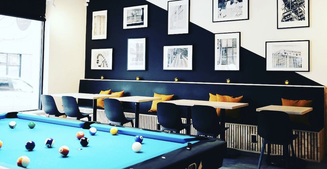 Sneaky Pete's Pool Cafe is opening in Vancouver this weekend