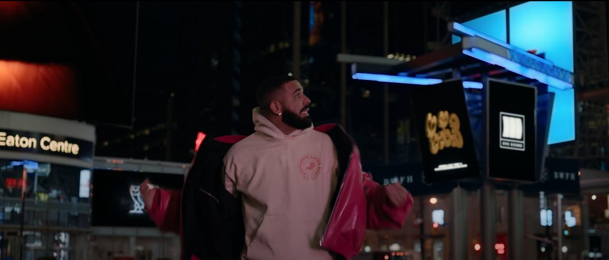 drake toronto music video