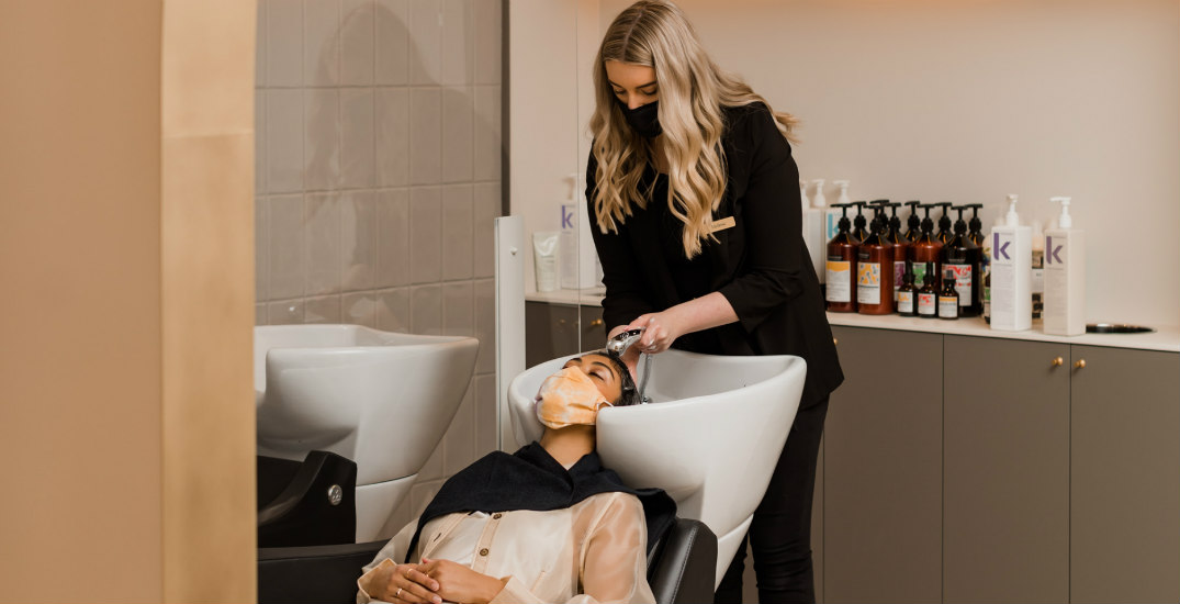 We tried the Lower Mainland's newest luxury blow dry bar