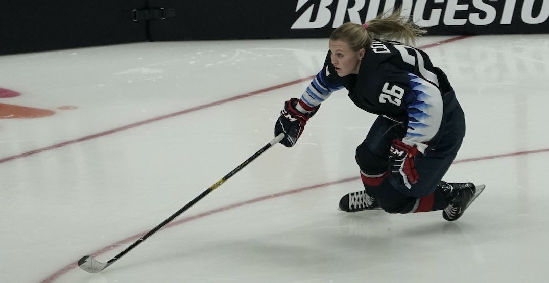 women's hockey NHL all star game Kendall Coyne-Schofield