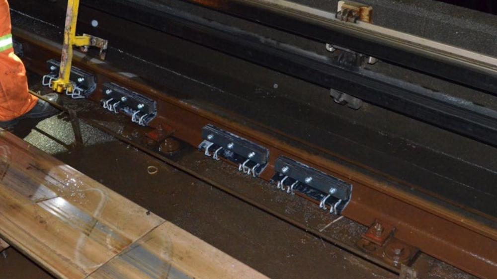 rail dampers