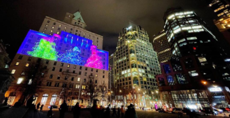New art installation illuminates downtown Vancouver (PHOTOS/VIDEOS)