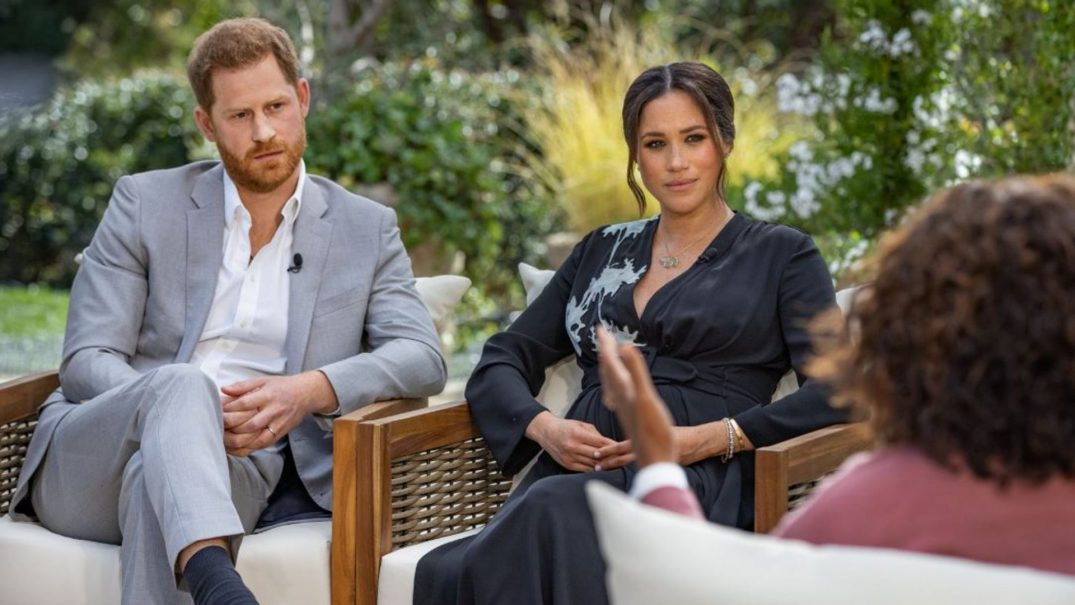 "Queen says race issues ""concerning"" after Harry and Meghan's Oprah interview"