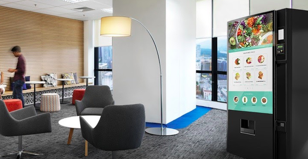 Smart vending machine amenity added to Vancouver rental housing complex