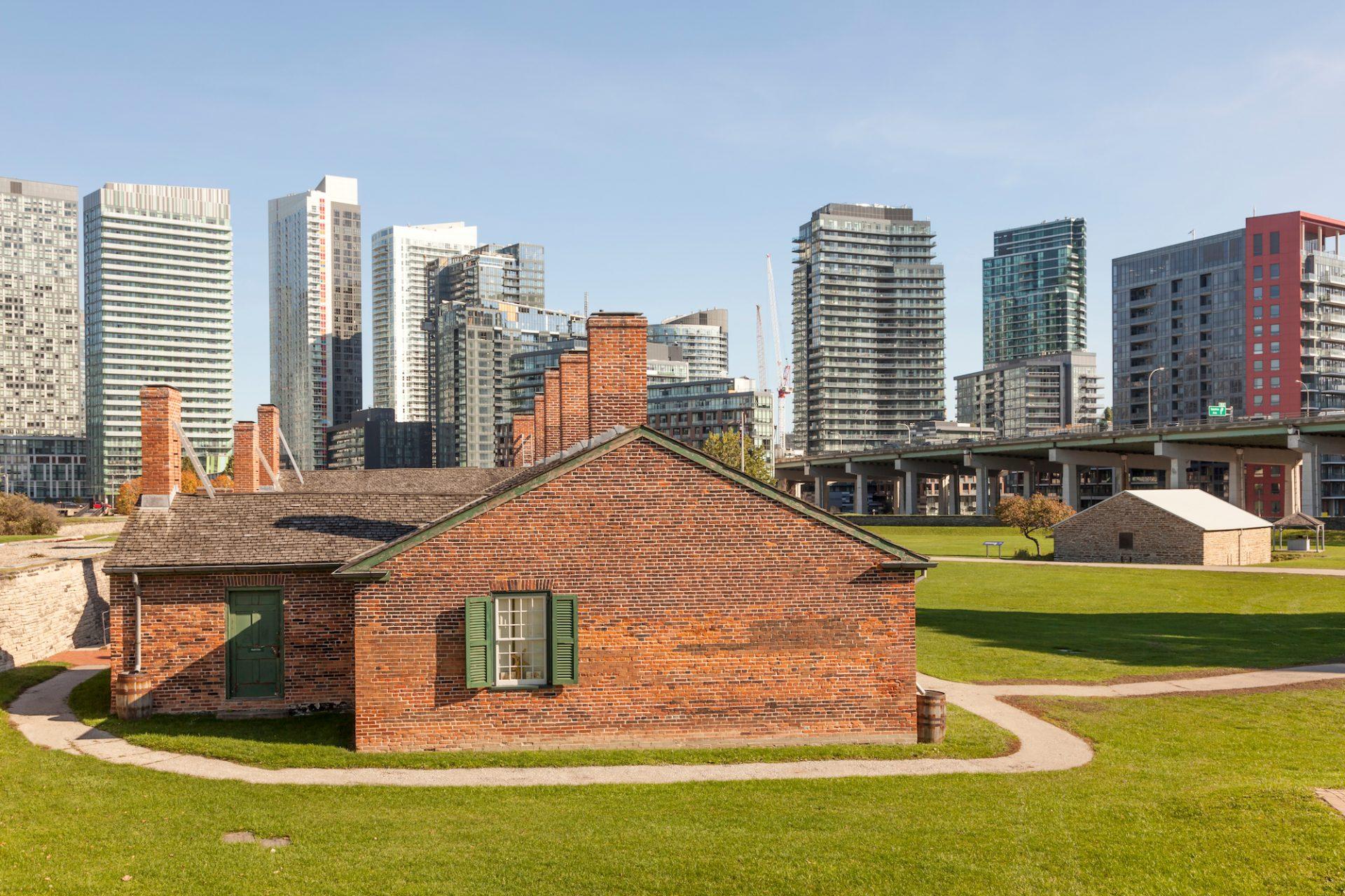 Toronto oldest buildings