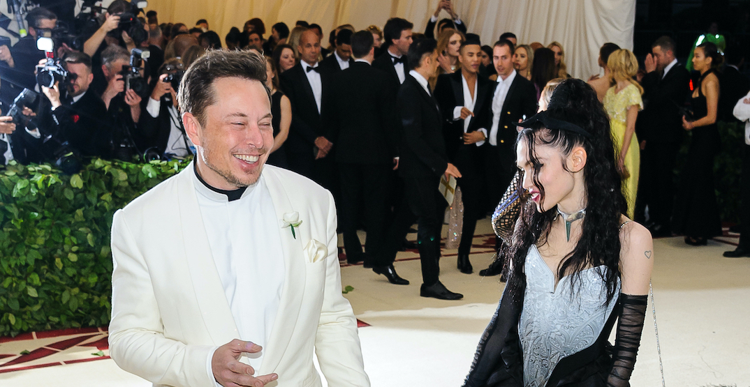 Elon Musk shares new photo of son X Æ A-Xii and Grimes