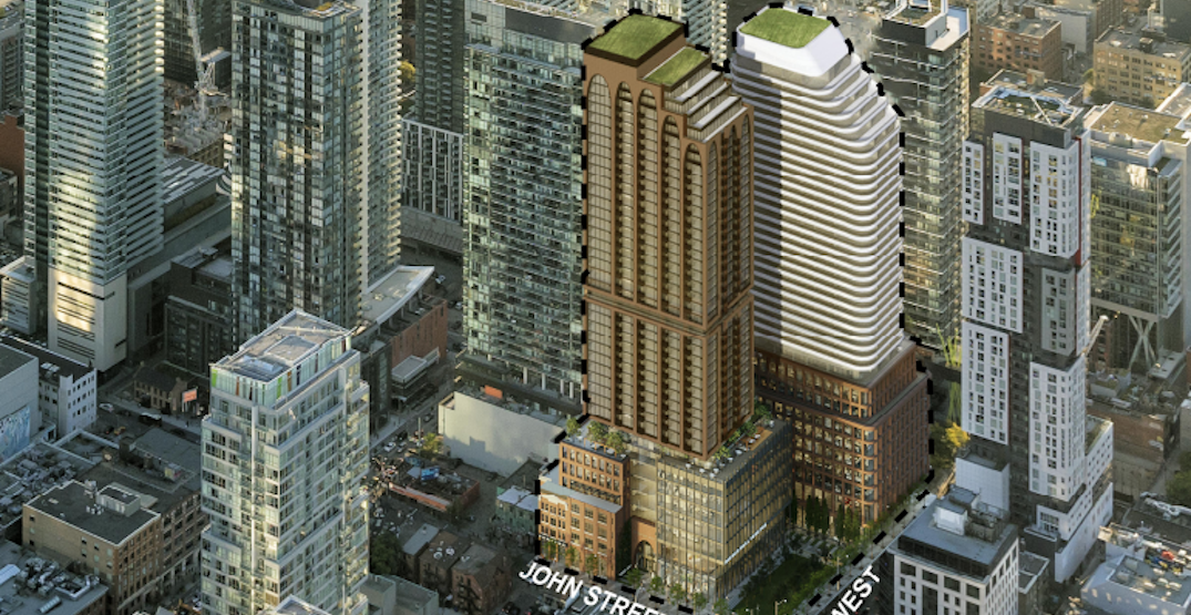 Here are the condo towers that could replace Toronto's Scotiabank Theatre (RENDERINGS)