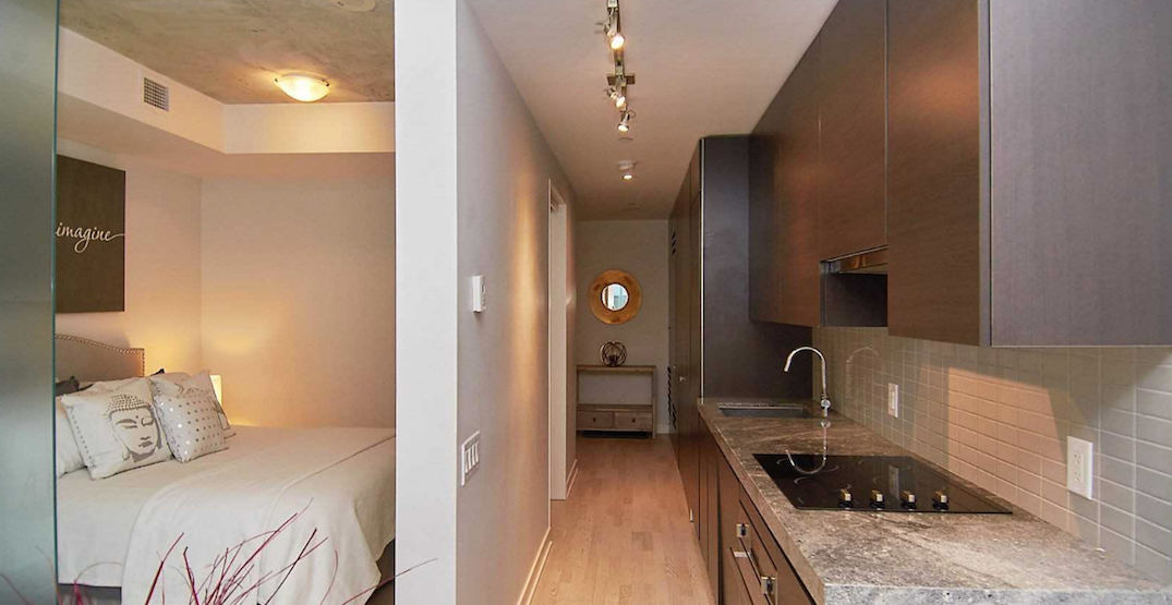 Cozy Toronto one-bedroom sells in one day for almost $100K over asking (PHOTOS)
