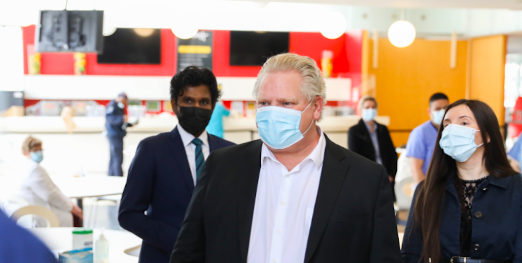 Ford to provide update on Ontario's COVID-19 vaccination rollout