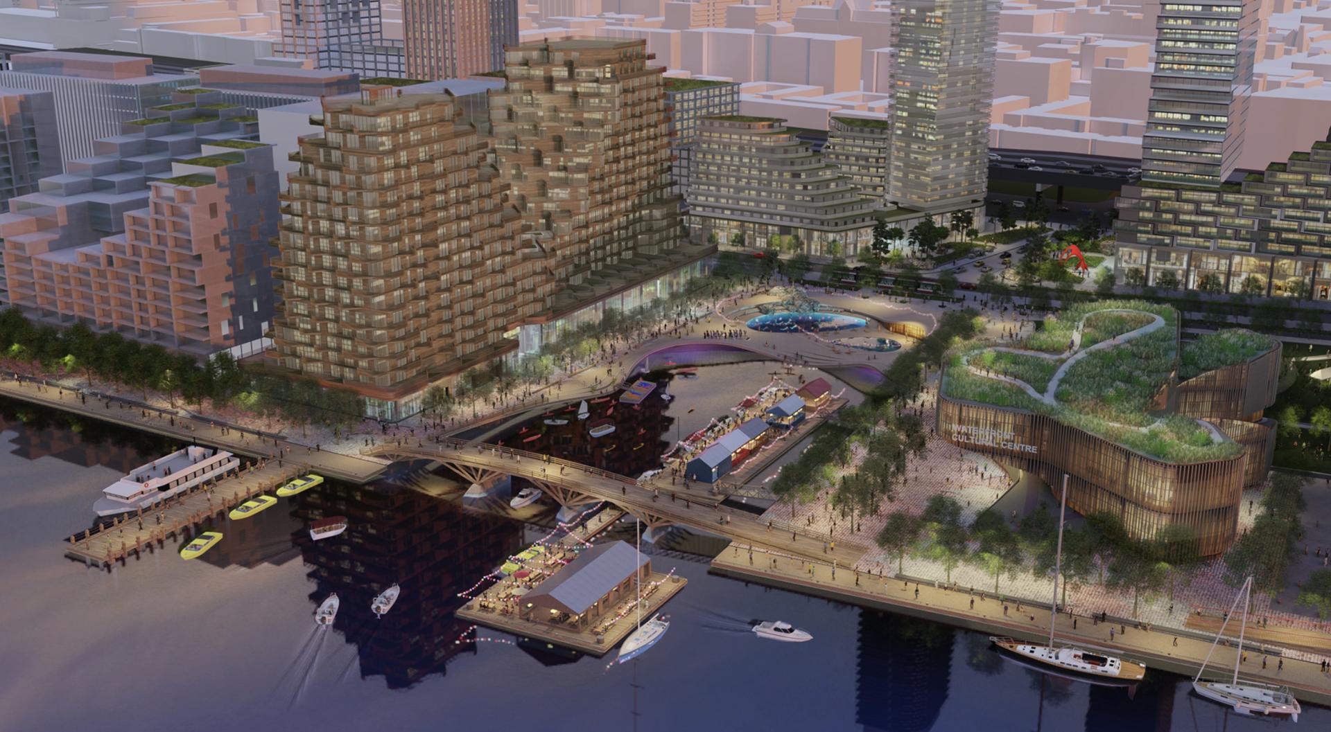What Toronto's abandoned Sidewalk Labs waterfront could look like (RENDERINGS)