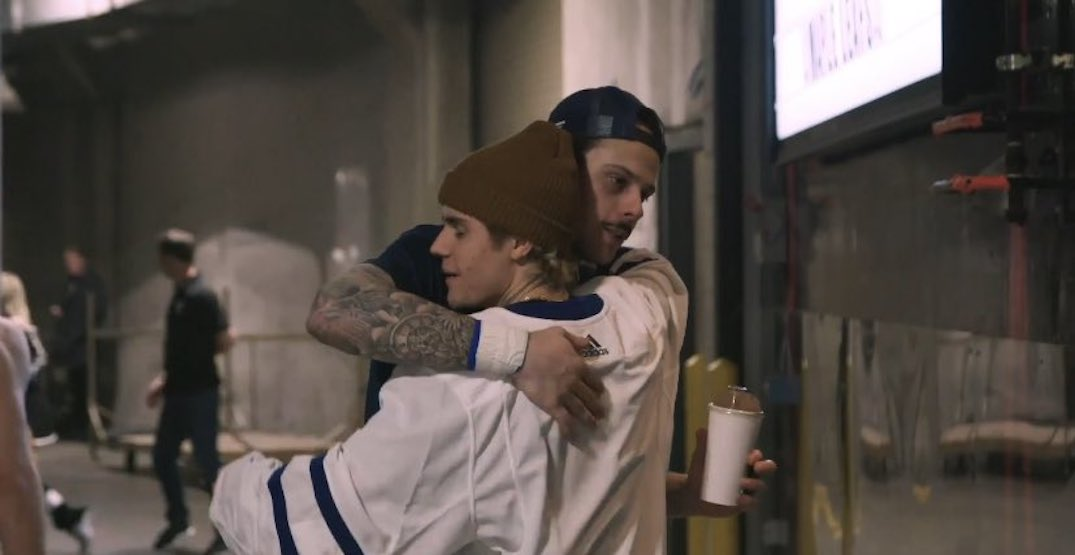 """Justin Bieber releases """"love letter"""" for the Toronto Maple Leafs (VIDEO)"""
