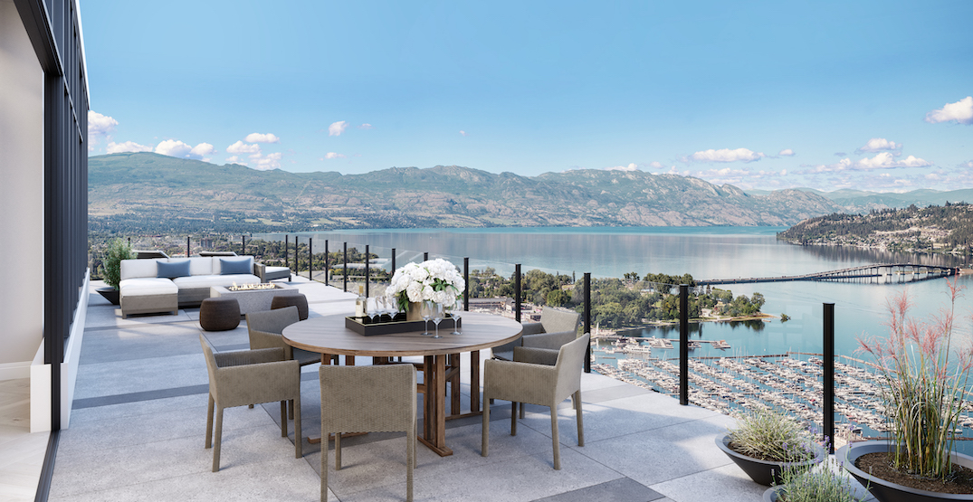 New record $10 million listing for penthouse in future downtown Kelowna tower