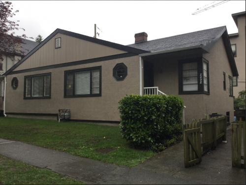 Esther Castellani was slowly poisoned to death with arsenic in this Kerrisdale duplex in 1965. Eve Lazarus photo, 2018