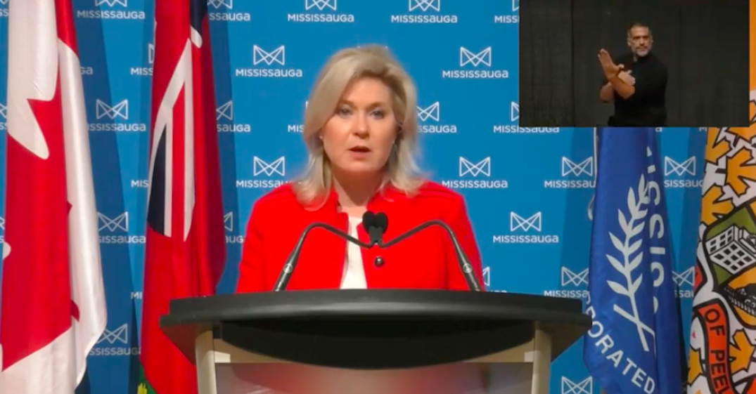 Mississauga mayor continues to push for region to enter Red Zone