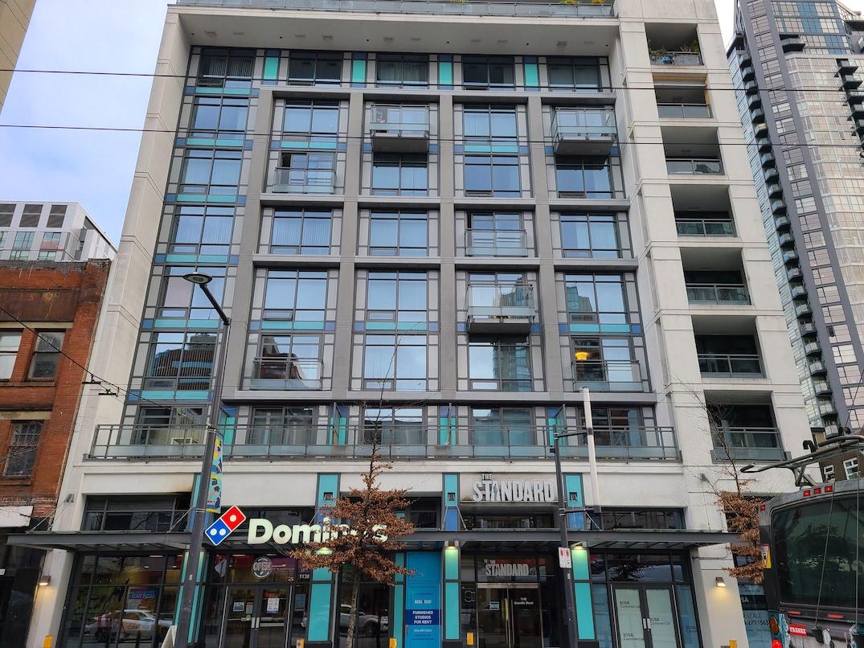 1142 granville street vancouver the standard bosa rental housing